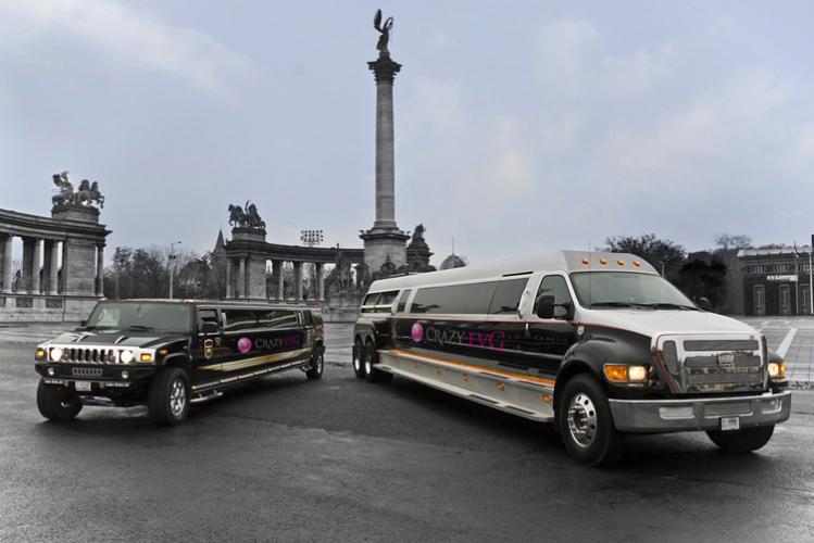 Enterrement de Vie de Garçon Budapest Daddy Limo Crazy-evG