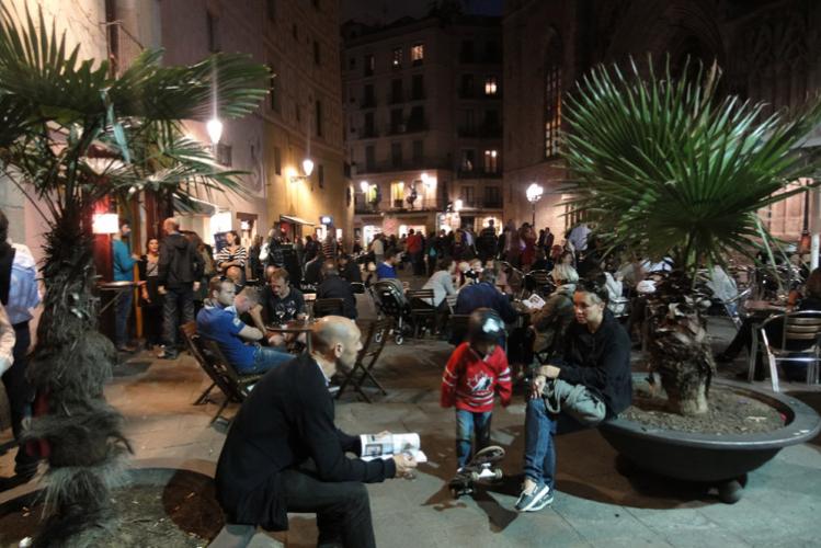 Vrijgezellenfeest activiteit Barcelona Crazy-Voyages