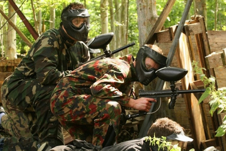 Junggesellenabschied Paintball Crazy-Voyages