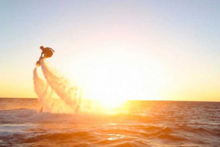 Junggesellenabschied Barcelona Polterabend JGA Fly Board
