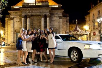 Enterrement de Vie de Jeune Fille à Deauville limousine