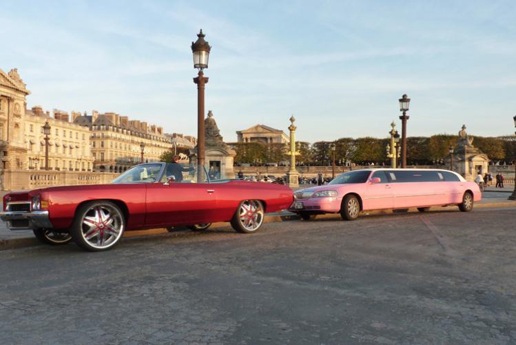 Enterrement de Vie de Garçon Paris Crazy-evG Lincoln Limo Lap Tour