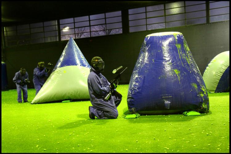 Enterrement de Vie de Garçon Paris Crazy-evG Paintball Indoor