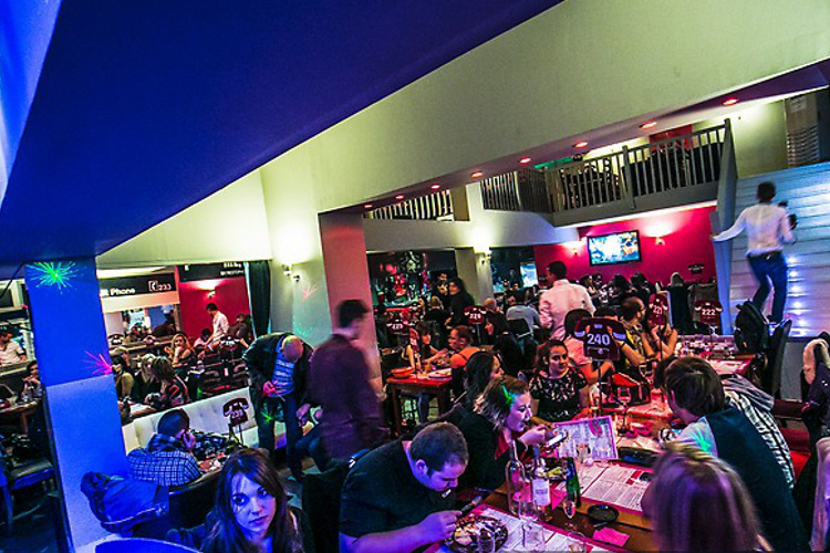 Enterrement de Vie de Garçon Montpellier Crazy-evG Diner strip