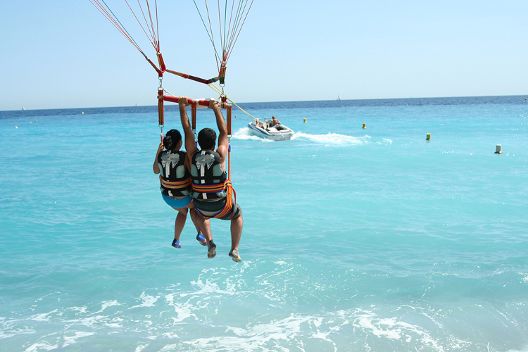 EVJF Nice Parachute ascensionnel