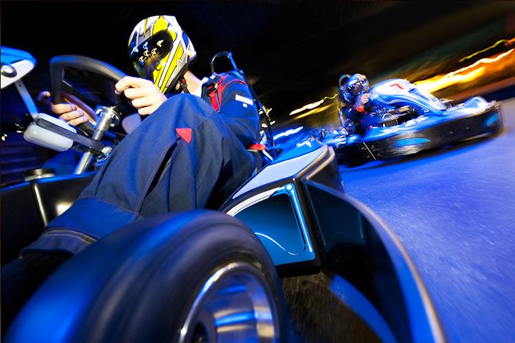 Junggesellenabschied Porto Kartfahren