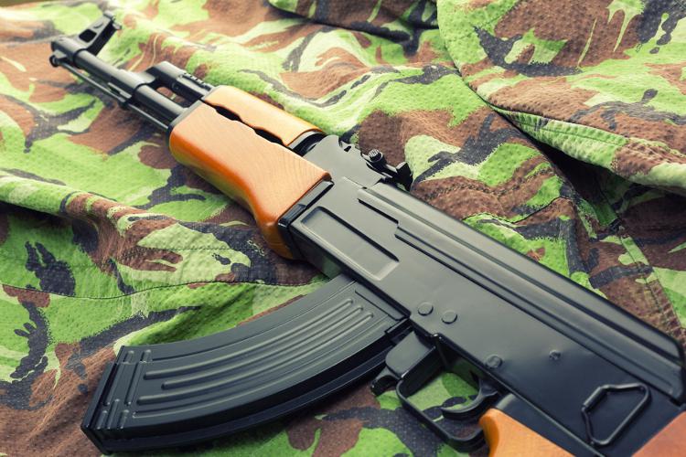 Shooting à l'arme AK-47 Bucarest Crazy Séminaire