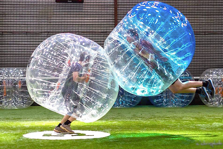 Bubble Foot à Lyon Crazy-Weekend