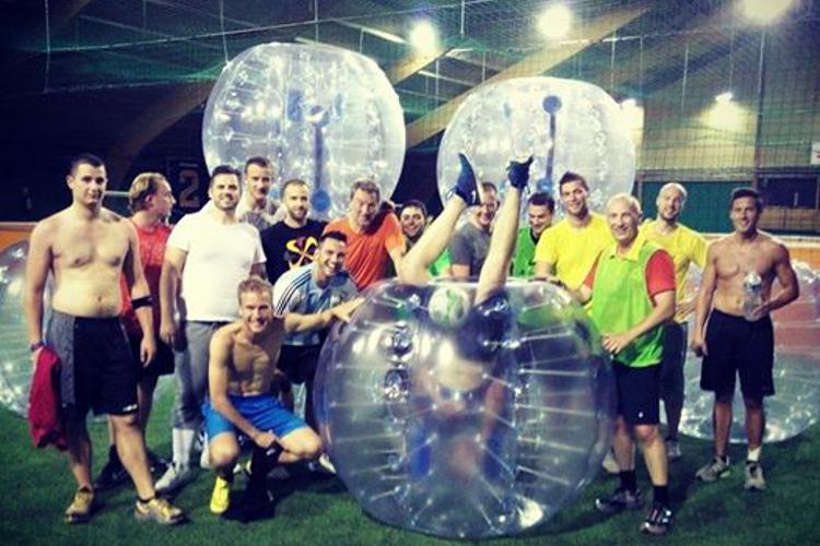 Bubble Foot Crazy-Séminaire Varsovie
