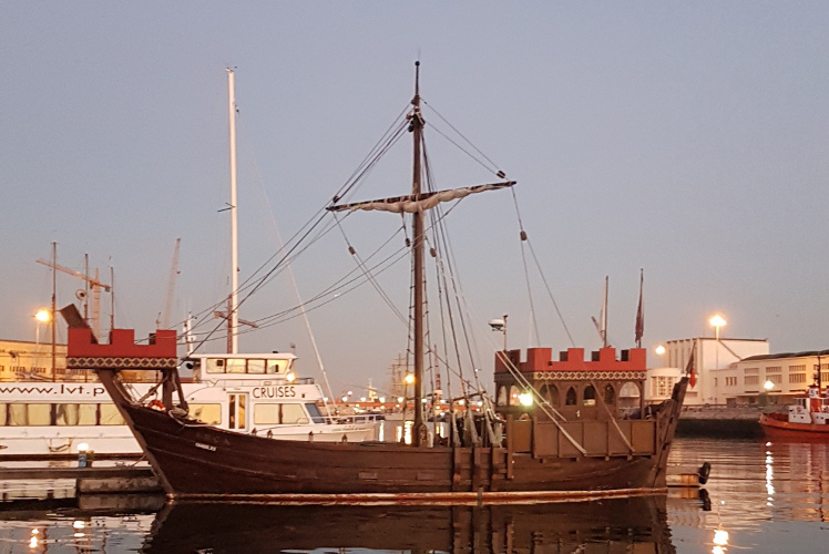 Bateau pirate EVJF Lisbonne