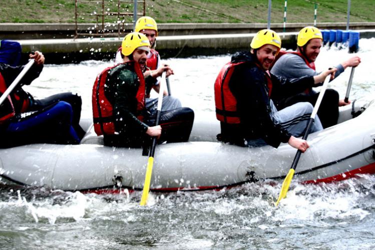 Addio al celibato Cracovia Rafting