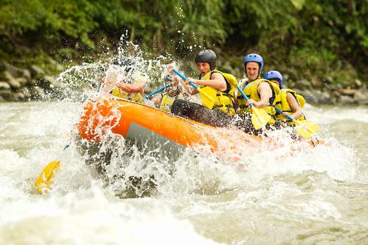 Rafting  for my Nice Hen Party | Maximise Hen Weekends