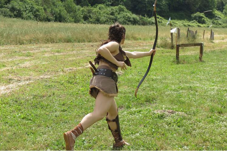 Cours de Gladiateur pour mon EVG à Rome