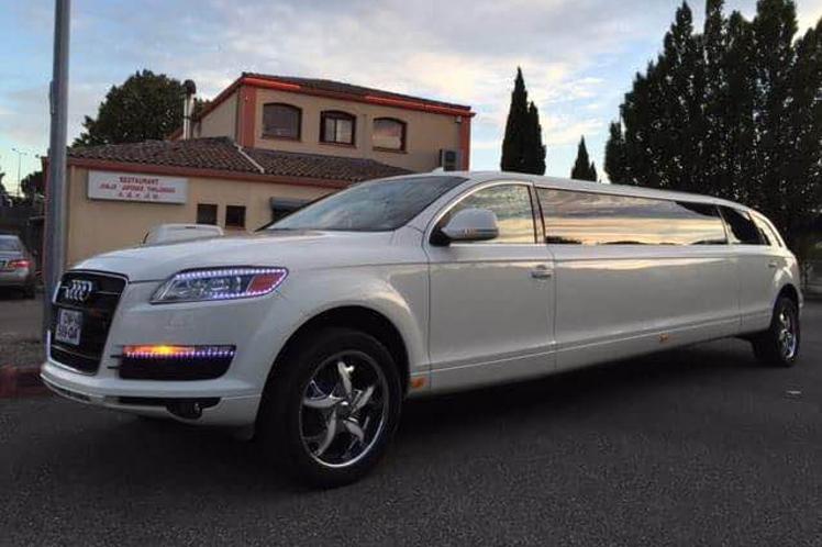 limo limousine q7 audi evg montpellier