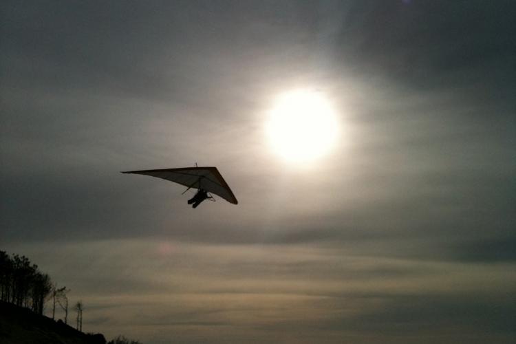 Enterrement de vie de jeune fille arcachon Crazy EVJF deltaplane