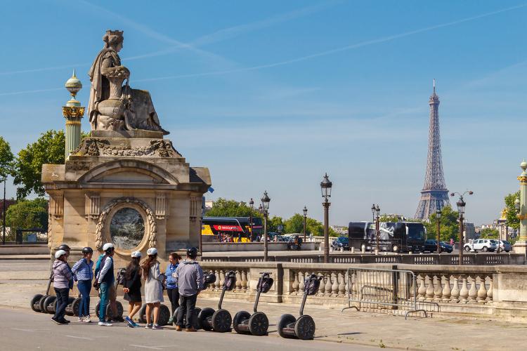 Segway | Paris | Junggesellinnenabschied