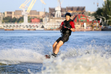 Wakeboarding pour mon EVG à Majorque