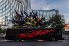 Transfert en Party Bus  pour mon EVG à Las Vegas | Enterrement de vie de garçon | idée enterrement de vie de garçon | activité enterrement de vie de garçon | idée evg | activité evg