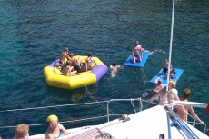 Catamaran Party pour mon séminaire à Barcelone | Séminaire | idée séminaire | voyage d'affaires | activité séminaire | Incentive | séminaire festif | collègues | congrès | colloque | meeting | conférence
